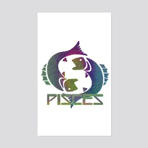 PISCES #3 - Rectangle Sticker