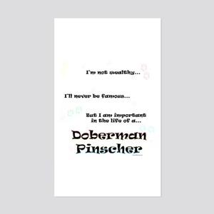 Dobie Life Rectangle Sticker