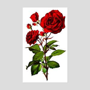 rose_short-tr Sticker (Rectangle)