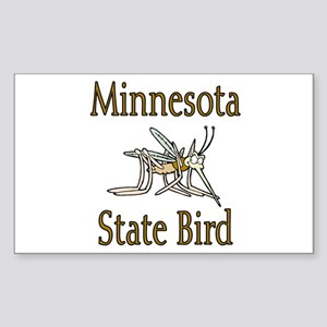 Minnesota State Bird Sticker (Rectangle)