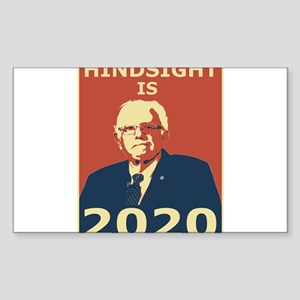 bernie sanders hindsight is 2020 Sticker