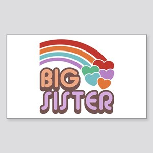 Big Sister Rectangle Sticker