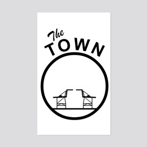 The Town Rectangle Sticker