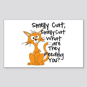 Smelly Cat Sticker (Rectangle)
