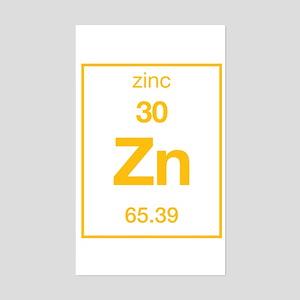 Zinc Rectangle Sticker