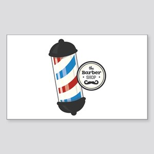 The Barber Shop Sticker