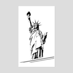 Statue_Of_Liberty_02 Sticker (Rectangle)