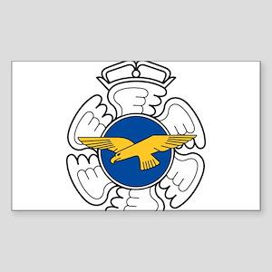 Finnish AF emblem Sticker (Rectangle)