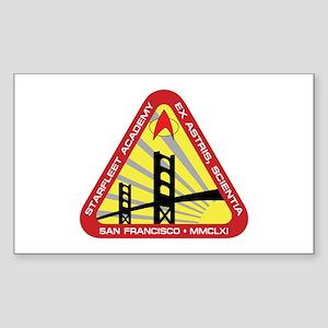 STAR TREK TNG SFA Sticker (Rectangle)