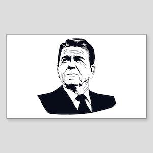 Strk3 Ronald Reagan Rectangle Sticker