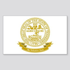 Tennessee Seal Sticker (Rectangle)