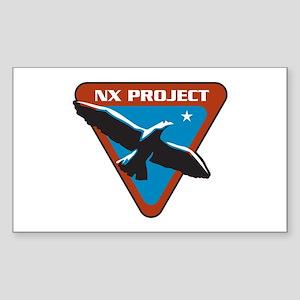 ENTERPRISE NxProject Sticker (Rectangle)