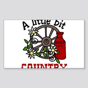 Little Bit Country Sticker (Rectangle)