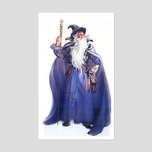 The Blue Wizard Sticker