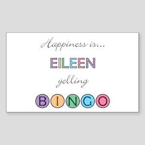 Eileen BINGO Rectangle Sticker