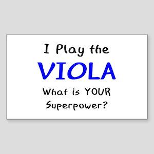 play viola Sticker (Rectangle)