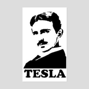 Tesla Rectangle Sticker