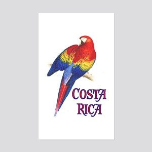 COSTA RICA II Rectangle Sticker