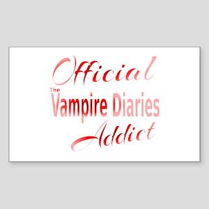 The Vampire Diaries Addict Sticker