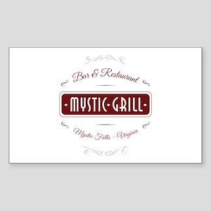 TVD - Mystic Grill red Sticker