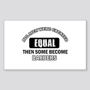 Cool Barbers designs Sticker (Rectangle)