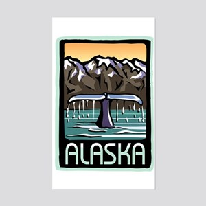 Alaska Pride! Rectangle Sticker