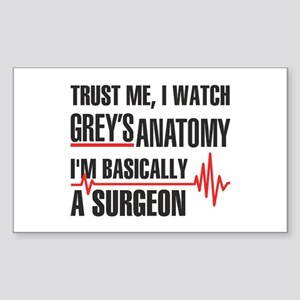 Greys Anatomy Trust me Sticker