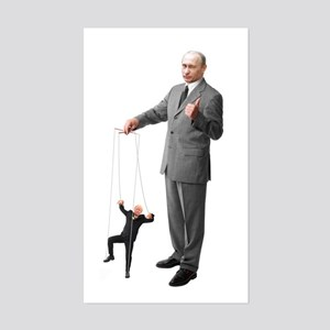 Putin Pulls The Strings Sticker