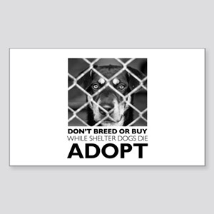 Shelter Dog Sticker