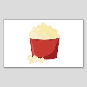 Bucket Of Popcorn Sticker
