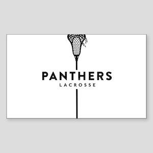 Panthers Lacrosse Sticker