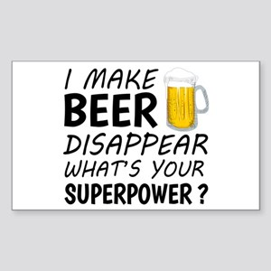 I Make Beer Disappear Sticker