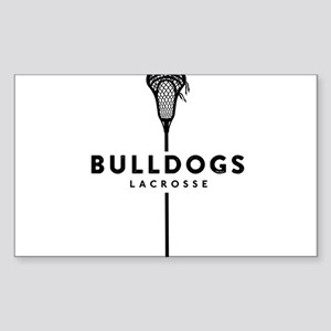 Bulldogs Lacrosse Sticker