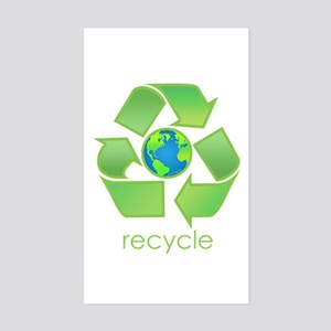 Recycle Rectangle Sticker