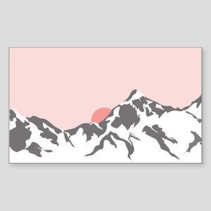 Mountain Sunrise Sticker
