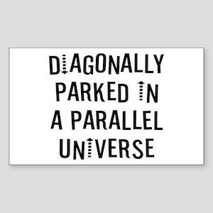 Diagonally Sticker (Rectangle)