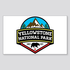 YELLOWSTONE NATIONAL PARK WYOMING BEAR 187 Sticker