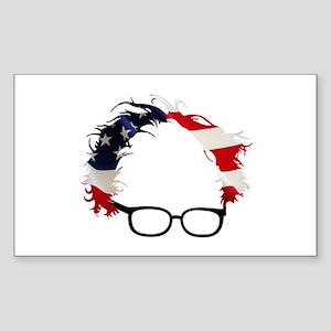 Bernie Flag Hair Sticker