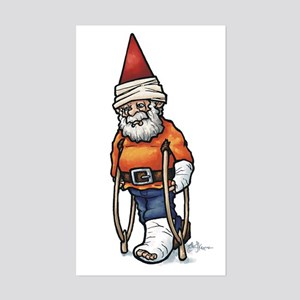 Good Recovery Gnome Rectangle Sticker