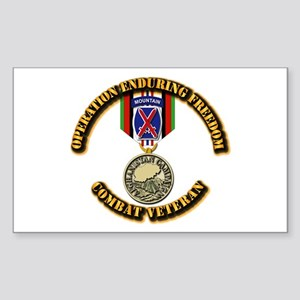 Operation Enduring Freedom - 1 Sticker (Rectangle)