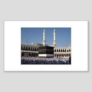 Kaaba Photo Rectangle Sticker