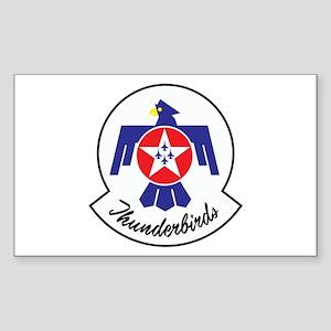 U.S. Air Force Thunderbirds Sticker (Rectangle)