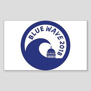 Blue Wave 2018 Midterm Election Sticker