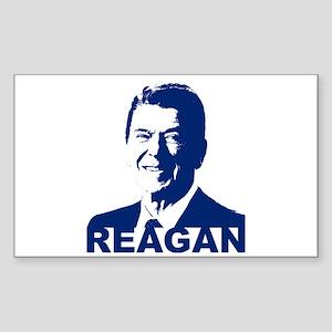 Ronald Reagan Rectangle Sticker