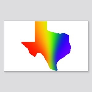 Texas 3 - Rectangle Sticker
