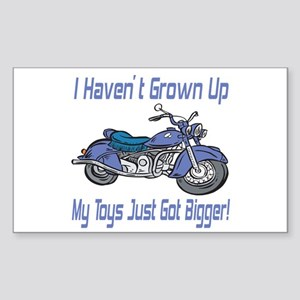 Motorcycle Toys Rectangle Sticker
