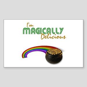 I'm Magically Delicious Rectangle Sticker