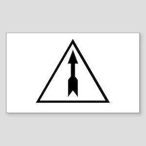 Saiga Sticker (Rectangle)