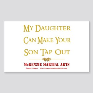 MMA - Daughter 2 - Sticker (Rectangle)