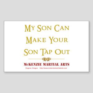 MMA - Son 2 - Sticker (Rectangle)